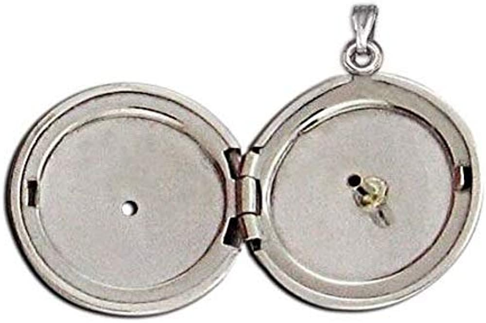 PicturesOnGold.com 14K Yellow Cremation Free Shipping New and Diamon Locket W Bombing free shipping Hair