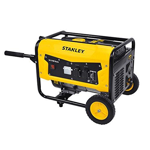 Stanley SG 3100 Basic Stromerzeuger (Inverter), 4-takt Benzinmotor - Betriebsdauer: 8,2 Stunden - 604800020