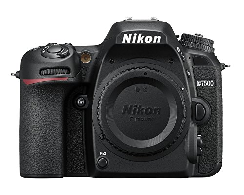 Nikkon D7500 - Cámara réflex digital de 20.9 Mp (pantalla LCD 3.2', 4K/UHD, SnapBridge, Bluetooth, Wifi), color negro - solo cuerpo