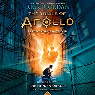 The Trials of Apollo, Book One: The Hidden Oracle cover art