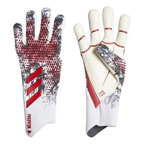 adidas Performance Predator 20 Pro Torwarthandschuh weiß/rot, 9.5