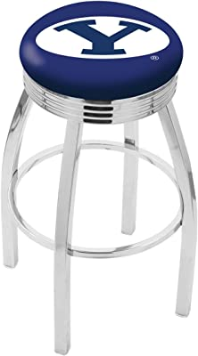 BYU Brigham Young University Swivel Bar Stool Counter Height