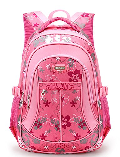 FREEMASTER Free Master Child Backpacks School Backpacks School Bag Daypack Backpack for Children Boys Girls Teenagers School Bags with Belt M/S 45 * 30 * 16/41 * 27 * 13 cm