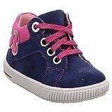 Superfit Baby Mädchen Moppy Lauflern Schuhe, Blau (Blau/Rosa 80 80), 21 EU