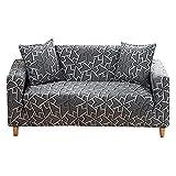 WXQY Estirar la Funda de sofá elástica,Sala de Estar combinación de Esquina para Mascotas Funda de sofá Antideslizante Funda de sofá Envuelta herméticamente A3 2 plazas
