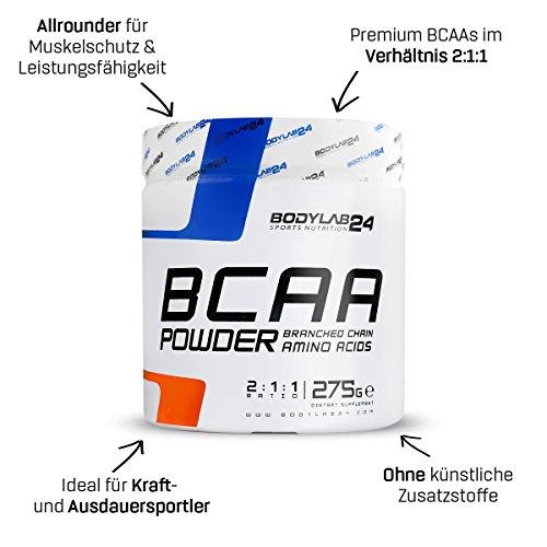 Bodylab24 BCAA Pulver, 275g - 4