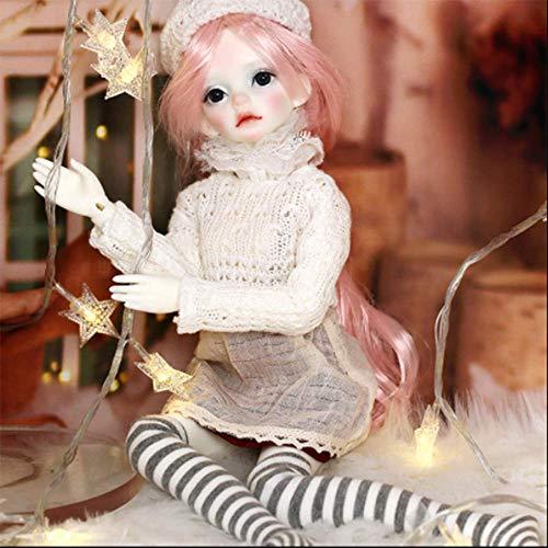 1/4 Delicado BJD Doll 40CM/15.7 Inch Resina Avanzada Ball Joints SD Muñecas con Cambio de Ropa Zapatos Accesorios Pelucas Maquillaje DIY Juguetes