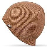 Gonex Bonnet Tricoté en Laine et Cachemire Doux et Confortable Chapeau Hiver pour Homme Femme Unisexe Taille Unique