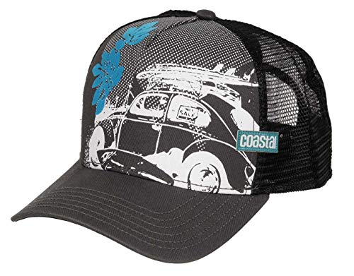 COASTAL - Beetle (charcoal) - High Fitted Trucker Cap