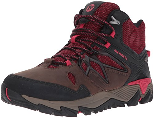 Merrell Women's All Out Blaze 2 Mid Waterproof Hiking Boot, Cinnamon, 8 M US