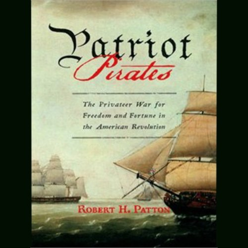 Patriot Pirates audiobook cover art