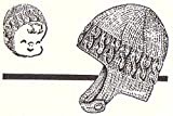 Knit Child's Helmet Hat Bonnet Vintage Knitting Pattern EBook Download (English Edition)