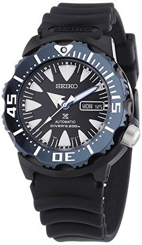 Seiko Reloj Analógico Automático para Hombre con Correa de Plástico – SRP581K1_Nero
