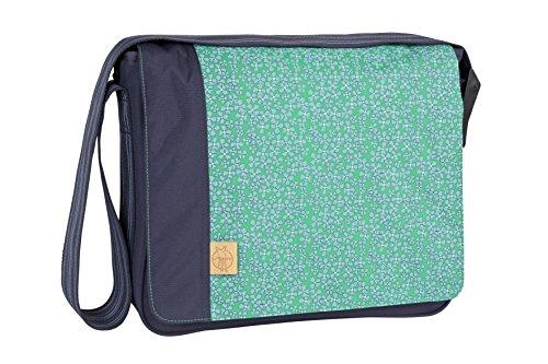 Lässig Casual Messenger Bag Wickeltasche/Babytasche inkl. Wickelzubehör blau