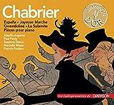 Emmanuel Chabrier : España - Joyeuse Marche - Gwendoline - La Sulamite - Pièces pour piano. Danco, Poulenc, Meyer, Paray, Argenta.