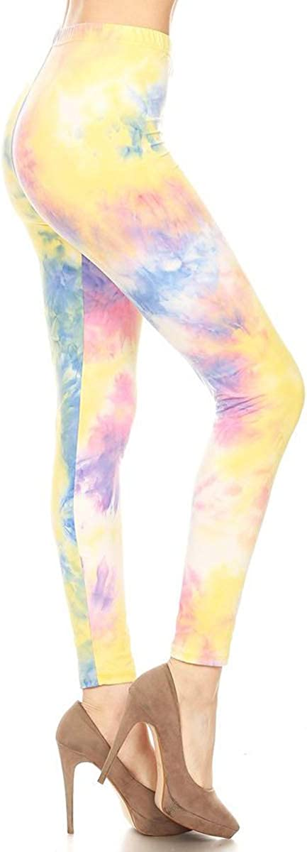 Leggings Depot Ultra Soft Women's Printed Fashion Leggings BAT3TD