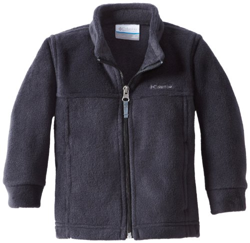 Columbia Little Boys' Steens MT II Fleece Jacket, Black, 3T