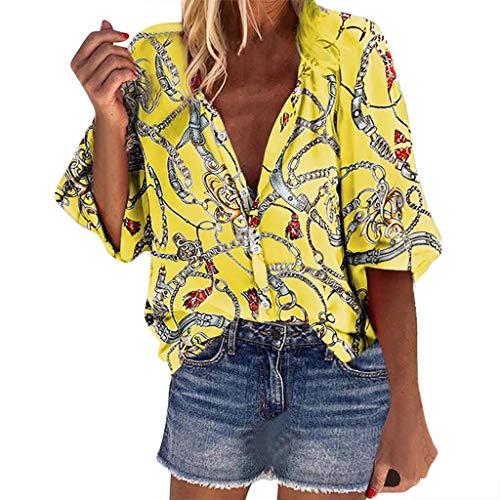 Damen Übergangsjacke Blumendruck Floral Hemd Shirt Jacket Cardigan Leicht Ethnic Tshirt Ethnischer Mantel Vintage Lose Lightweight Jacke Damen Große Größen Pullover Outwear Oversize S-5XL