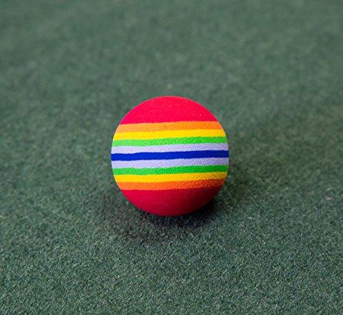 Longridge Foam Practice Golf Balls (Pack of 6 Balls)