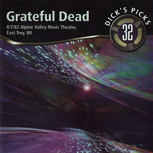 Dick's Picks Vol. 32-Alpine Valley Music Theatre, East Troy, WI 8/7/82 (2-CD Set)