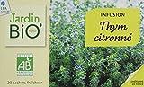Jardin Bio Infusion Thym Citronné 30 g - Lot de 4