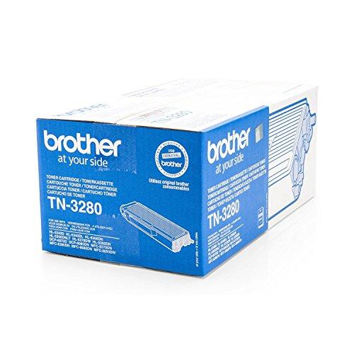Original Brother TN-3280 /, für HL-5350 Series Premium Drucker-Kartusche, Schwarz, 8000 Seiten