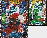 CAGO Lego Ninjago Serie 5 Mega Digi Kai XXL6 + Digi Lloyd
