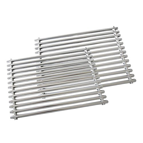Onlyfire Replacement BBQ Stainless Steel Cooking Grates for Weber Spirit Genesis Grills, Lowes Model Grills