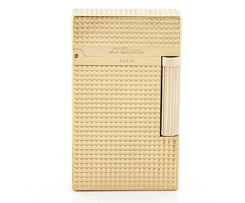 S.T.Dupont LIGNE2 SERIES 16284 デュポン ガスライターライン2 シリーズ ダイアモンド・ヘッド・カット ゴールド 対応ガス/ゴールドラベル [並行輸入品]