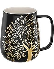 amapodo XXL kaffemugg stor med handtag jumbo kaffemugg presentidé för kvinnor män