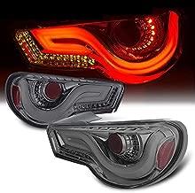 LED Streak Tail Lights Pair For FRS BRZ (Smoke)