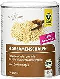 Raab Vitalfood Bio Flohsamenschalen-Pulver, mit 82% Ballaststoffen, besonders fein vermahlen, aus biologischem Anbau, vegan, glutenfrei, 150 g