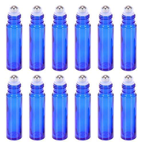 Milisten Botellas de Rodillos de Acero Inoxidable Azul