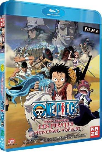 One Piece-Le Film 8 : Episode d'Alabasta : Les Pirates et la Princesse du Désert [Blu-Ray]