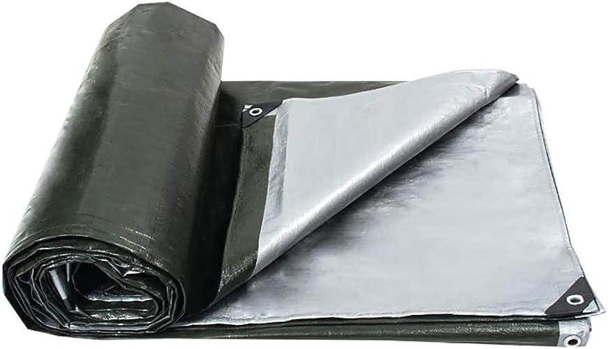 Bache extérieure de camion de bache de devoir de polyester grande pour la tente d'auvent de bache, bateau, RV ou couverture de piscine, 180g   m2 (taille   8×12m)