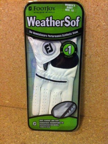 FootJoy Golfhandschuhe WeatherSof Damen Reg rechts Med/groß von Footjoy