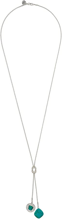 The Sak - Stone Lariat Necklace 30