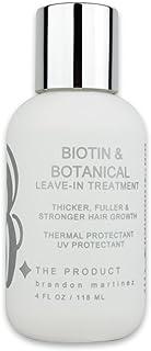 Biotin Vitamin Hair Growth Conditioning Treatment-(High Potency) Biotin Thermal Protectant, Anti Hair Loss Styling Serum F...