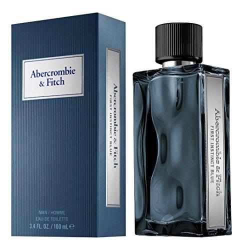 Price comparison product image Abercrombie & Fitch First Instinct Blue for Men Eau de Toilette Spray,  3.4 Ounce