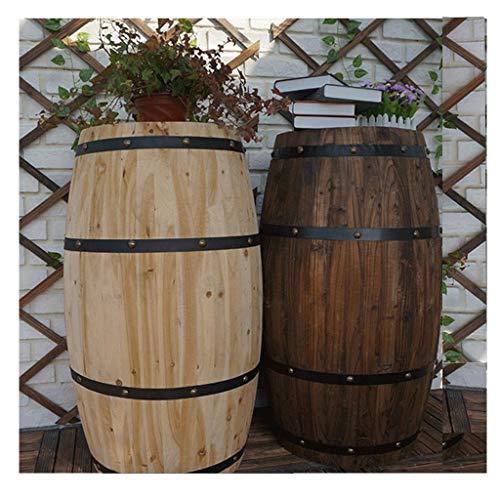 Barril de vino Barricas de roble, resina y grifos metálicos almacenan vino y licores.Variedad de capacidades, barriles de vino de roble, cerveza, barriles de vino, bares, adornos de barril de