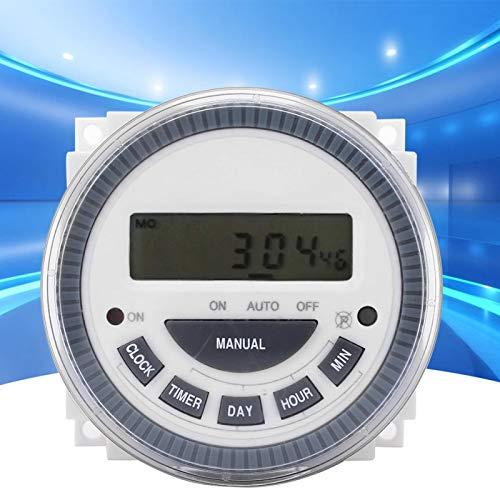Interruptor de temporizador Temporizador LCD TM619H-2 Interruptores de control de tiempo de pantalla digital LCD electrónica para DC 12V industrial