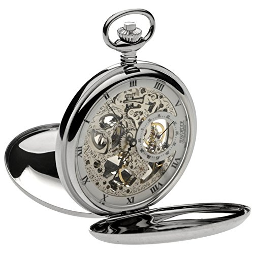 Jean Pierre esqueleto doble Hunter reloj de bolsillo, la Federación _ g250cm
