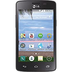 cheap TracFone LG Lucky Unlocked Phone-Retail Package-Black