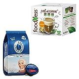 Caffe' Borbone 30 Capsule e Foodness ginseng 20 capsule Compatibile Nescafe' Dolce Gusto