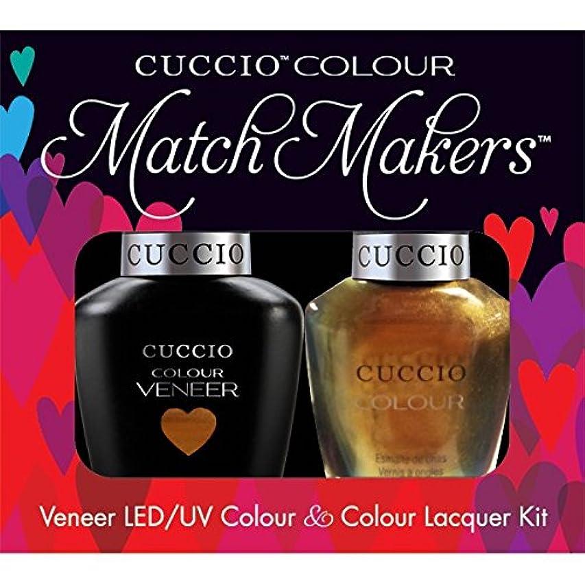 消費者ドアミラー清めるCuccio MatchMakers Veneer & Lacquer - Crown Jewels - 0.43oz / 13ml Each