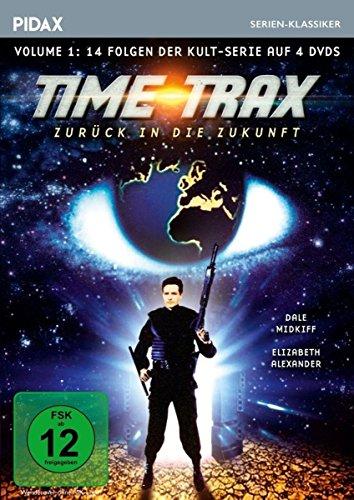 Time Trax - Zurück in die Zukunft, Vol. 1 / Die ersten 14 Folgen der Kult-Serie (Pidax Serien-Klassiker) [4 DVDs]