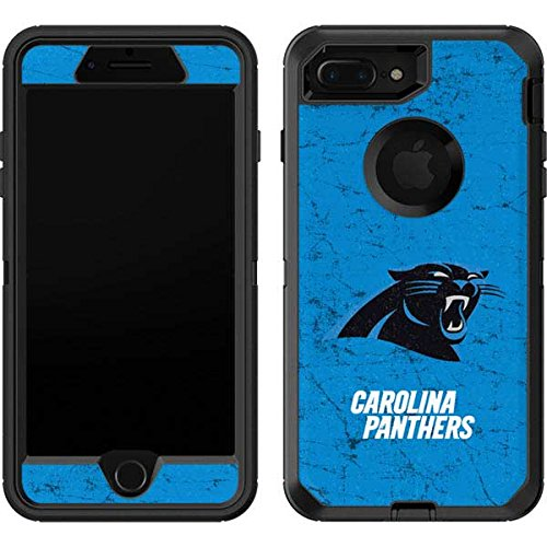 best website 9b197 41787 Skinit Carolina Panthers Distressed Alternate OtterBox Defender iPhone 7  Plus Skin for CASE - Officially Licensed NFL Skin for Popular Cases Decal -  ...