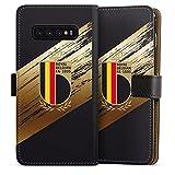 DeinDesign Étui Compatible avec Samsung Galaxy S10 Plus Étui Folio Étui magnétique Maillot RBFA...