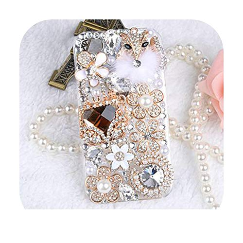 Bling Crystal Diamonds Rhinestone 3D Stones - Carcasa rígida para iPhone 7/5/5S para Samsung Galaxy S5 6 7 Edge-6-para iPhone 11 Pro