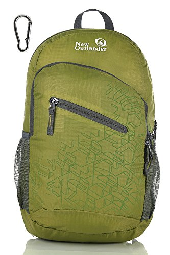 Outlander Ultra Lightweight Packable Water Resistant Travel Backpack